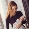 Фото новорожденной с мамой