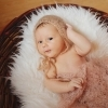 Малышка Валерия в корзинке