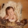 Съемка младенца с реквизитом