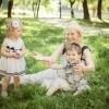 Фотосъемка семьи на природе