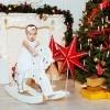 Новогодняя детская фотосессия в студии