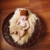 Фотосессия малыша 3 месяца