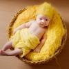 желтая шапочка с марлечкой