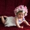 Шапочка на ребенка 2-3 месяцев