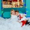 Новогодняя фотосессия в зале белый шоколад