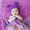 Фотосъемка малышки 3 месяца