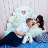 Фотосессия малышки 3 месяца