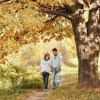 Фото беременной осенью