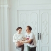 Беременная с мужем фотосъемка