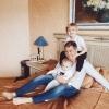семейные фото с детьми дома