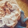 семейная фотосессия дома фото